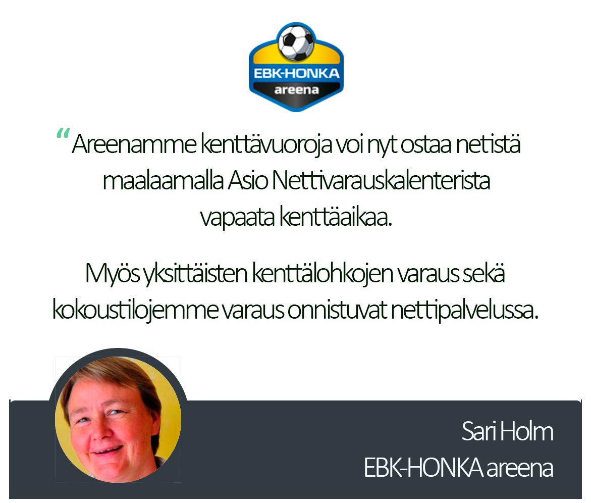 Ebk Honka Areena